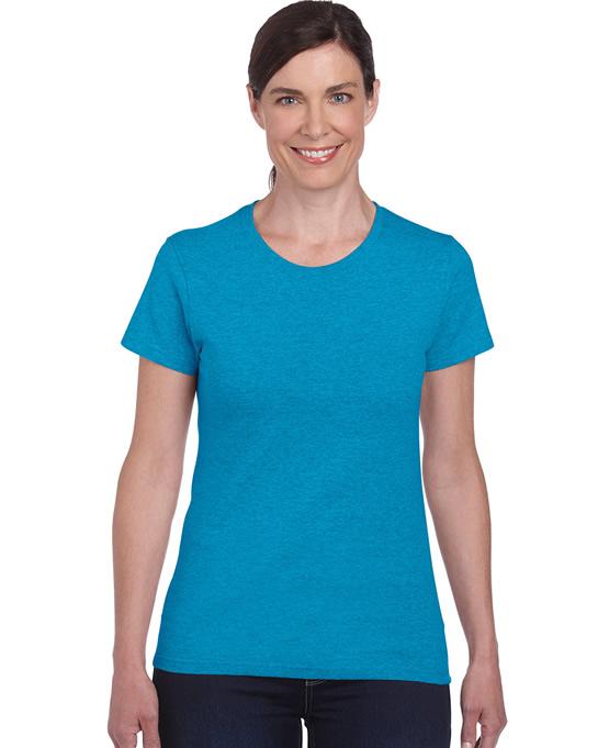 Koszulka Heavy Cotton Ladies GILDAN L5000 - Gildan_L5000_07 - Kolor: Heather sapphire