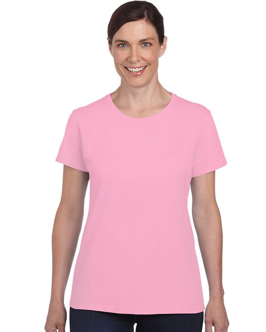 Koszulka Heavy Cotton Ladies GILDAN L5000 - Gildan_L5000_08 - Kolor: Light pink