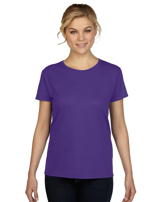 Koszulka Heavy Cotton Ladies GILDAN L5000 - Gildan_L5000_09 - Kolor: Lilac