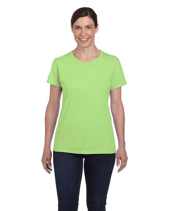 Koszulka Heavy Cotton Ladies GILDAN L5000 - Gildan_L5000_10 - Kolor: Mint