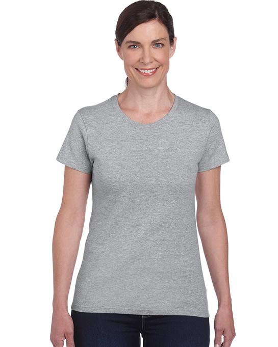 Koszulka Heavy Cotton Ladies GILDAN L5000 - Gildan_L5000_15 - Kolor: Sport grey