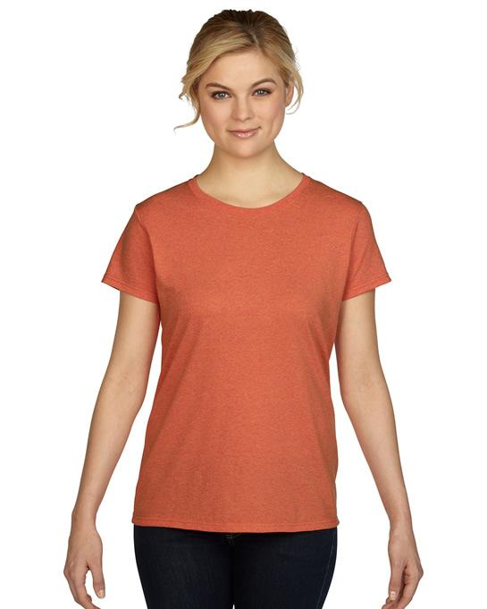 Koszulka Heavy Cotton Ladies GILDAN L5000 - Gildan_L5000_16 - Kolor: Sunset