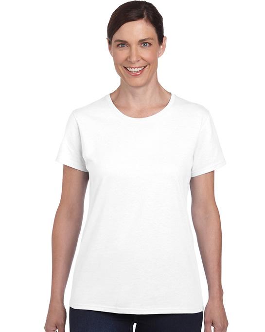 Koszulka Heavy Cotton Ladies GILDAN L5000 - Gildan_L5000_17 - Kolor: White