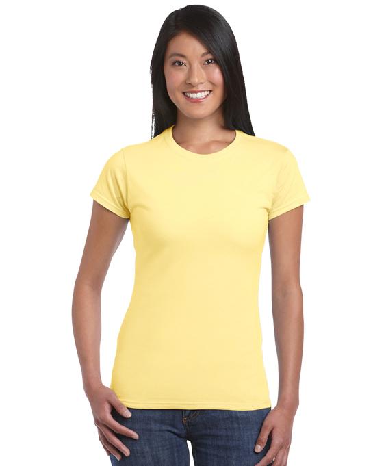 Koszulka Softstyle Ladies GILDAN L6400 - Gildan_L6400_10 - Kolor: Daisy