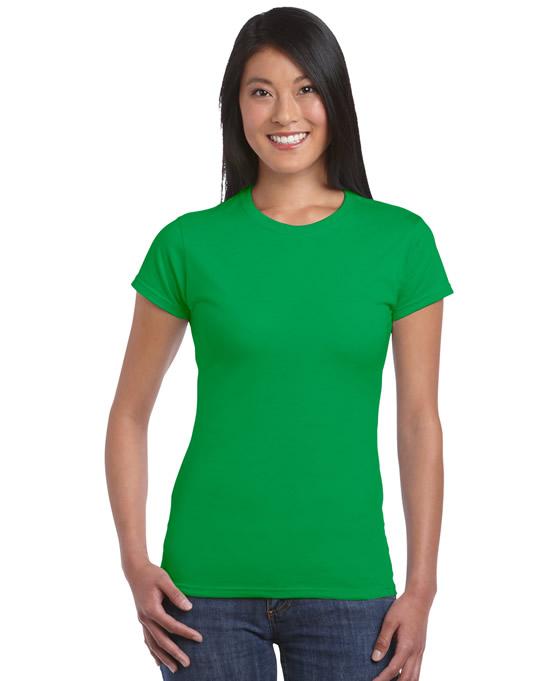 Koszulka Softstyle Ladies GILDAN L6400 - Gildan_L6400_16 - Kolor: Irish green