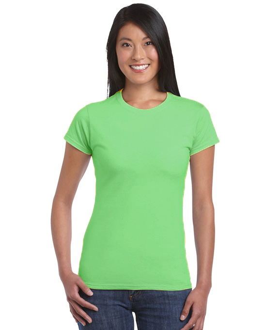 Koszulka Softstyle Ladies GILDAN L6400 - Gildan_L6400_30 - Kolor: Mint