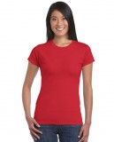Koszulka Softstyle Ladies GILDAN L6400 - Gildan_L6400_23 Red