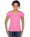 Koszulka Softstyle V-Neck Ladies GILDAN L64V00 - Gildan_L64V00_01 Azalea