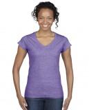 Koszulka Softstyle V-Neck Ladies GILDAN L64V00 - Gildan_L64V00_05 Heather purple
