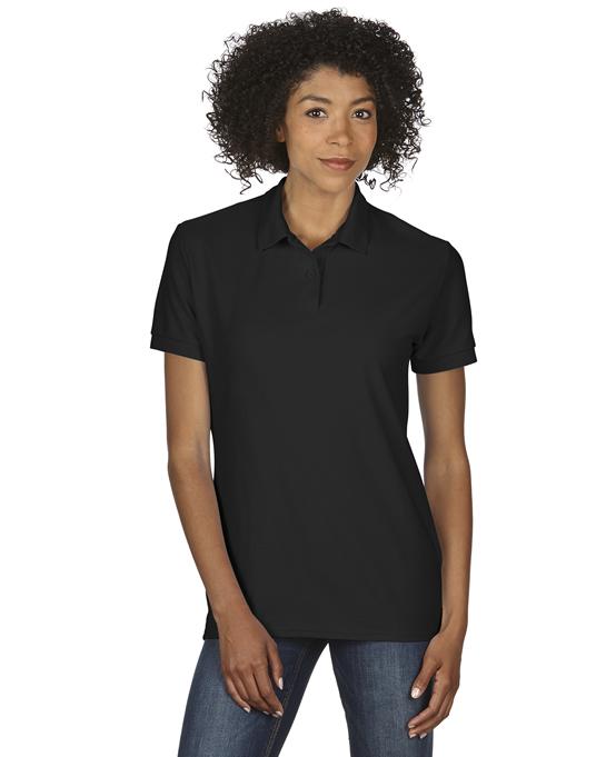 Koszulka Polo DryBlend Double Pique Ladies GILDAN L75800 - Gildan_L75800_02 - Kolor: Black
