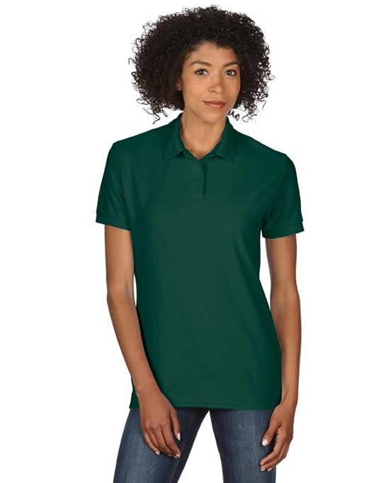 Koszulka Polo DryBlend Double Pique Ladies GILDAN L75800 - Gildan_L75800_04 - Kolor: Forest green