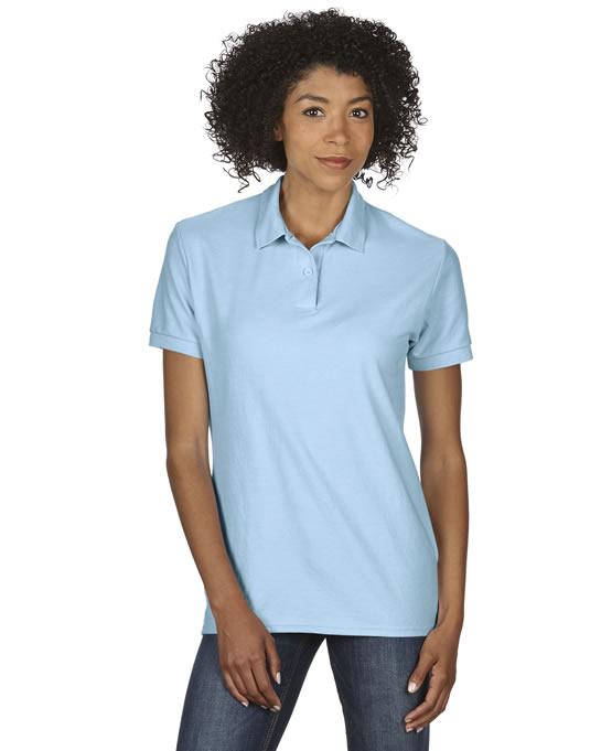Koszulka Polo DryBlend Double Pique Ladies GILDAN L75800 - Gildan_L75800_01 - Kolor: Light blue