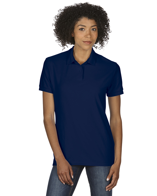 Koszulka Polo DryBlend Double Pique Ladies GILDAN L75800 - Gildan_L75800_06 - Kolor: Navy
