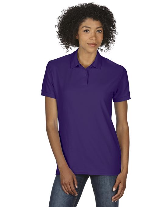 Koszulka Polo DryBlend Double Pique Ladies GILDAN L75800 - Gildan_L75800_07 - Kolor: Purple