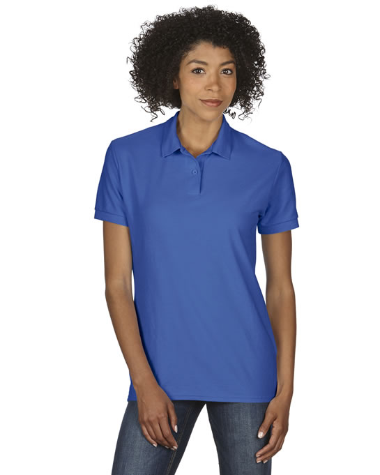 Koszulka Polo DryBlend Double Pique Ladies GILDAN L75800 - Gildan_L75800_09 - Kolor: Royal blue