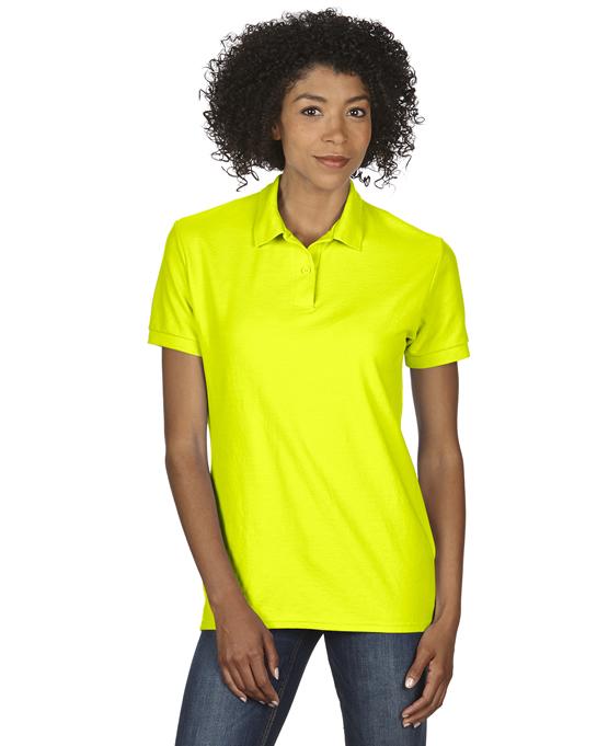 Koszulka Polo DryBlend Double Pique Ladies GILDAN L75800 - Gildan_L75800_12 - Kolor: Safety green