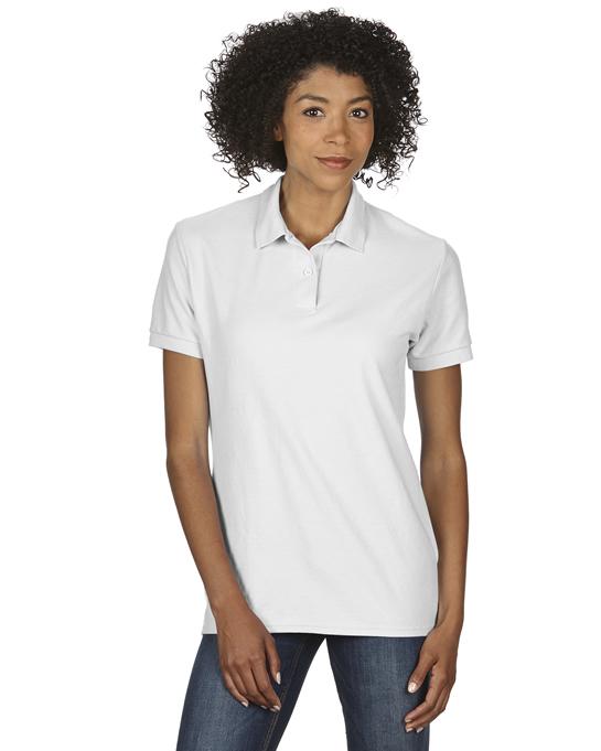 Koszulka Polo DryBlend Double Pique Ladies GILDAN L75800 - Gildan_L75800_13 - Kolor: White