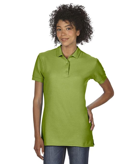Koszulka Polo Premium Cotton Double Pique Ladies GILDAN L85800 - Gildan_L85800_04 - Kolor: Kiwi