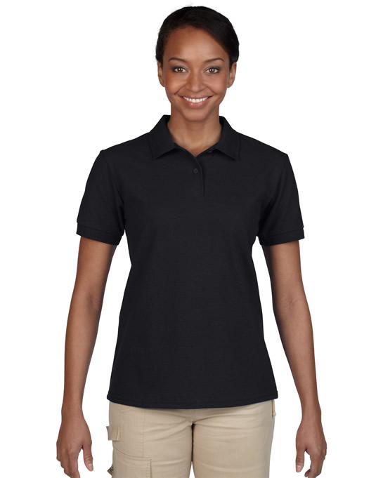 Koszulka Polo DryBlend Pique Ladies GILDAN L94800 - Gildan_L94800_02 - Kolor: Black