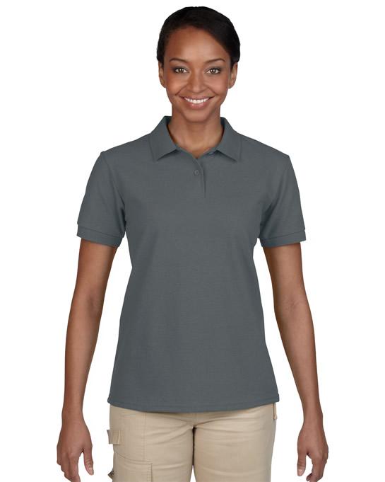 Koszulka Polo DryBlend Pique Ladies GILDAN L94800 - Gildan_L94800_04 - Kolor: Charcoal