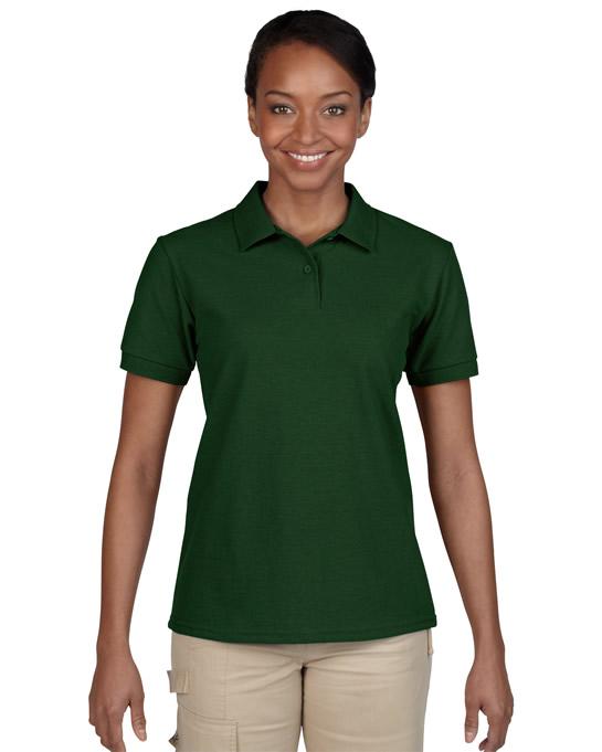 Koszulka Polo DryBlend Pique Ladies GILDAN L94800 - Gildan_L94800_05 - Kolor: Forest green