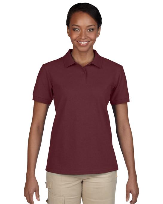 Koszulka Polo DryBlend Pique Ladies GILDAN L94800 - Gildan_L94800_07 - Kolor: Maroon