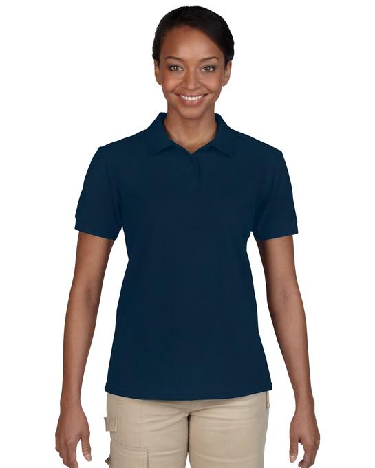 Koszulka Polo DryBlend Pique Ladies GILDAN L94800 - Gildan_L94800_08 - Kolor: Navy