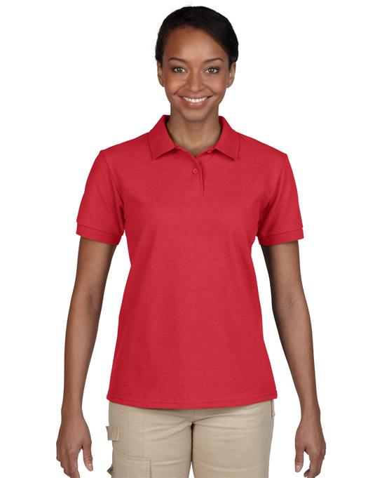 Koszulka Polo DryBlend Pique Ladies GILDAN L94800 - Gildan_L94800_09 - Kolor: Red