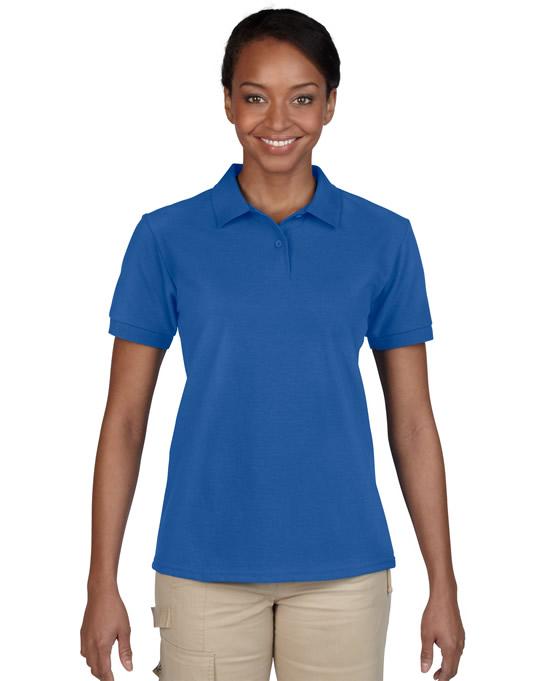 Koszulka Polo DryBlend Pique Ladies GILDAN L94800 - Gildan_L94800_10 - Kolor: Royal blue