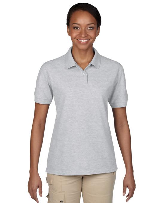 Koszulka Polo DryBlend Pique Ladies GILDAN L94800 - Gildan_L94800_11 - Kolor: Sport grey