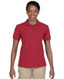 Koszulka Polo DryBlend Pique Ladies GILDAN L94800 - Gildan_L94800_03 Cardinal red