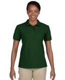 Koszulka Polo DryBlend Pique Ladies GILDAN L94800 - Gildan_L94800_05 Forest green