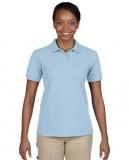 Koszulka Polo DryBlend Pique Ladies GILDAN L94800 - Gildan_L94800_06 Light blue