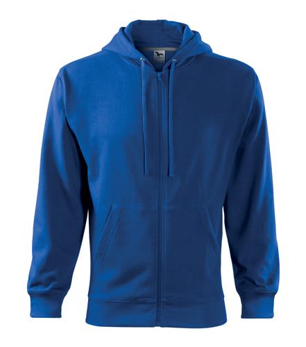 Bluza męska  A 410 Trendy Zipper 300 - 410_05 A - Kolor: Chabrowy
