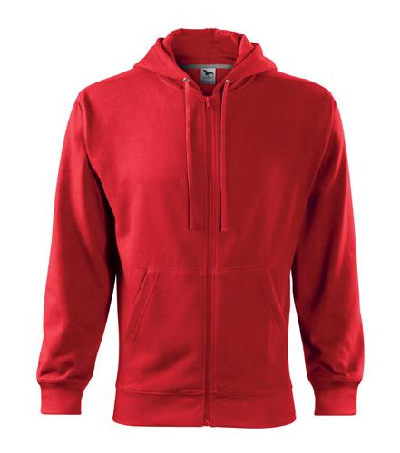Bluza męska  A 410 Trendy Zipper 300 - 410_07 A - Kolor: Czerwony