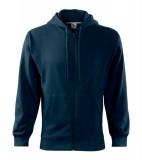 Bluza męska  A 410 Trendy Zipper 300 - 410_02 A Granatowy