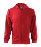 Bluza męska  A 410 Trendy Zipper 300 - 410_07 A Czerwony