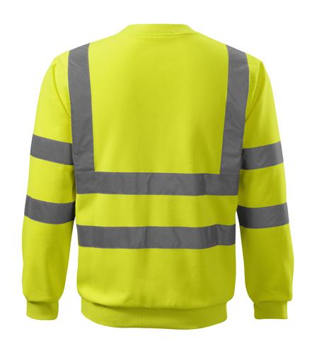 Bluza Essential  A 4V6 HV - 4v6_97_B - Kolor: Żółty odblaskowy