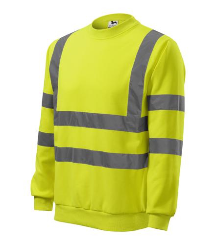Bluza Essential  A 4V6 HV - 4v6_97_C - Kolor: Żółty odblaskowy