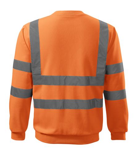 Bluza Essential  A 4V6 HV - 4v6_97_B - Kolor: Odblaskowo pomarańczowy