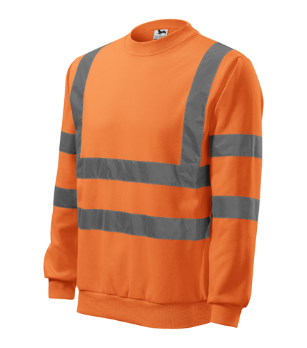 Bluza Essential  A 4V6 HV - 4v6_97_C - Kolor: Odblaskowo pomarańczowy