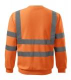 Bluza Essential  A 4V6 HV - 4v6_97_B Odblaskowo pomarańczowy