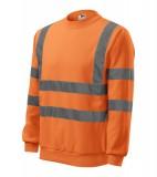 Bluza Essential  A 4V6 HV - 4v6_97_C Odblaskowo pomarańczowy