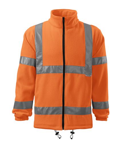 Polar męski  A 5V1 HV   - 5v1_98_A - Kolor: Odblaskowo pomarańczowy