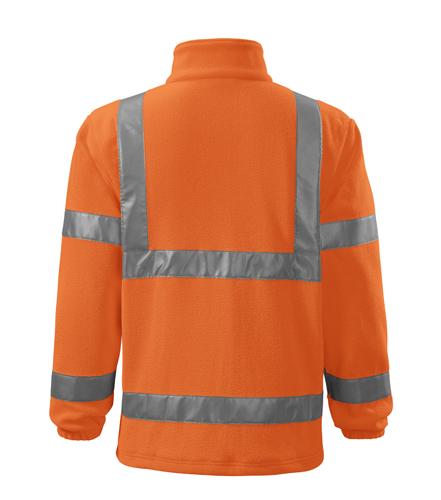 Polar męski  A 5V1 HV   - 5v1_98_B - Kolor: Odblaskowo pomarańczowy