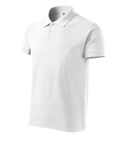 Koszulki  Polo Męska A 215 Cotton Heavy  - 215_00_C - Kolor: Biały