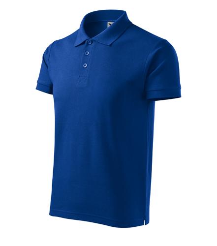 Koszulki  Polo Męska A 215 Cotton Heavy  - 215_05_C - Kolor: Chabrowy