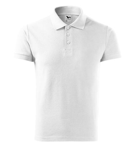 Koszulka Polo Męska A 212 Cotton  - 212_00_A - Kolor: Biały