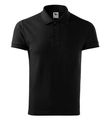 Koszulka Polo Męska A 212 Cotton  - 212_01_A - Kolor: Czarny