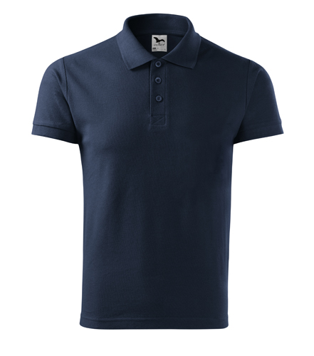 Koszulka Polo Męska A 212 Cotton  - 212_02_A - Kolor: Granatowy